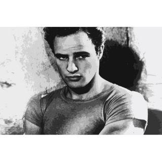 Movies Marlon Brando Photographic Print on Canvas by iCanvas