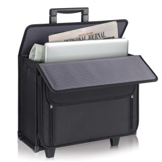 Solo Classic 17 inch Rolling Laptop Catalog Case   11287497