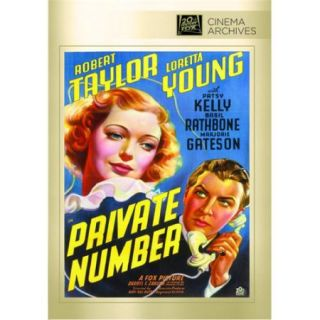 Private Number DVD Movie 1936