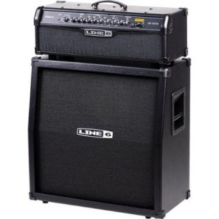 Line 6 Spider IV HD150 150W and 4x12 Guitar Half Stack