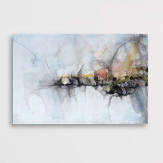 New Era Publishing Weaving IV by Monica Wang Painting Print on Canvas