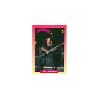 Autograph Warehouse 93774 Alec John Such Trading Card Bon Jovi 1991 Brockum Rockcards No . 196