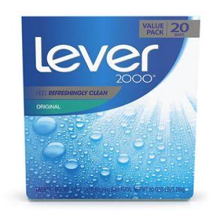 Lever 2000 Bar Soap, Original (4 oz, 20 ct.)