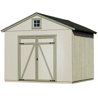 Heartland Statesman Gable Engineered Wood Storage Shed (Common: 10 ft x 10 ft; Interior Dimensions: 10 ft x 10 ft)