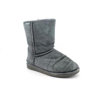 Bearpaw Womens Emma Short Regular Suede Boots