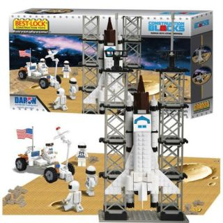 Best Lock BL70301 Space Shuttle 330 Piece Construction Toy