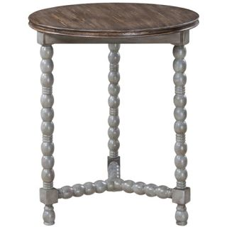 Brittney Milk Stool Table by Gails Accents