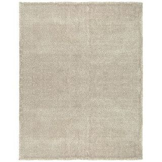 Feizy Dimensions Washed Wool and Polyester Shag Pile Transitional Rug, 8 x 11, Beige