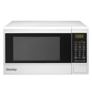 Danby 1.4 cu. ft. Countertop Microwave in White DMW14SA1WDB