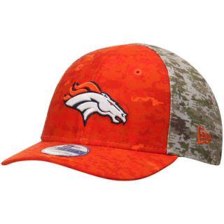 Denver Broncos New Era Preschool Salute To Service On Field 39THIRTY Performance Flex Hat   Camo