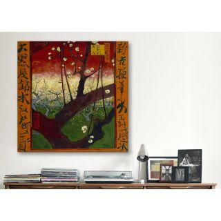 iCanvas Flowering Plum Tree (After Hiroshige) by Vincent van Gogh
