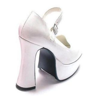 Adult White Mary Jane Shoes Ellie Shoes 557