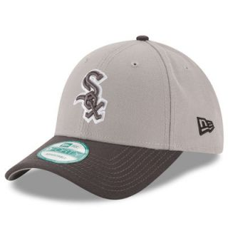Chicago White Sox New Era Gray League 9FORTY Adjustable Hat   Gray/Graphite