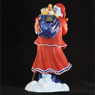Precious Moments Pere Noel of Paris Limited Edition Santa with Blue