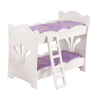 KidKraft Lil' Doll Bunk Bed 60130