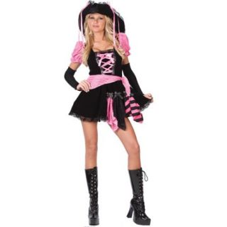 Pink Punk Pirate Adult Halloween Costume