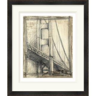 Golden Gate Bridge by Vision Studio Framed Graphic Art