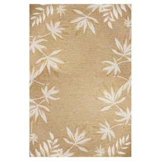 KAS Rugs Serenity Brown Rectangular Indoor Outdoor Woven Area Rug (Common: 8 x 11; Actual: 97 in W x 134 in L)