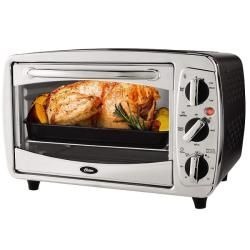 Oster 6 slice Stainless Steel Toaster Oven  ™ Shopping