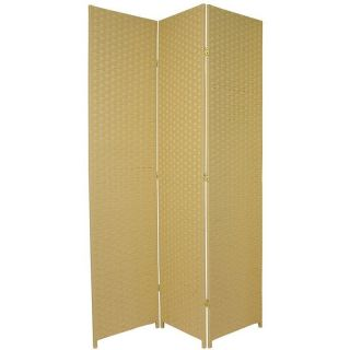 84 x 48 3 Panel Room Divider by Oriental Furniture