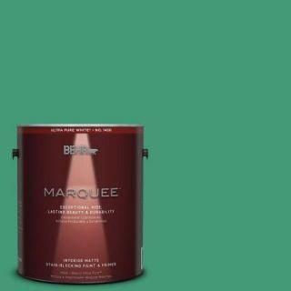 BEHR MARQUEE 1 gal. #MQ6 42 Dancing Jewel One Coat Hide Matte Interior Paint 145301
