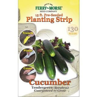 Ferry Morse 15 ft. Cucumber Tendergreen Seed Strip 811