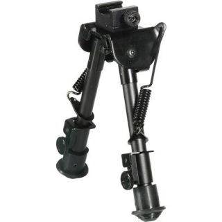 "UTG Tactical OP Bipod, Rubber Feet, Center Height 6.1"" 7.9"""