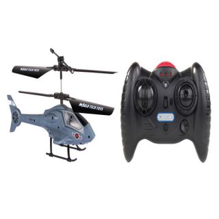 Apollo Navy Gray Micro 2CH IR RC Helicopter   15828371