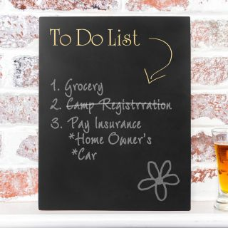 To Do List Sign Chalkboard by Cathys Concepts