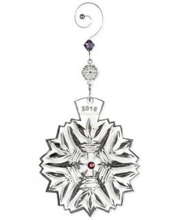 Waterford 2015 Snowflake Wishes for Health Glenmore Ornament   Holiday