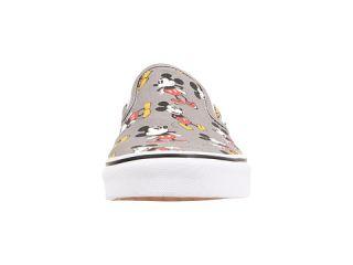Vans Disney® Classic Slip On™ (Disney) Mickey Mouse/Frost Gray