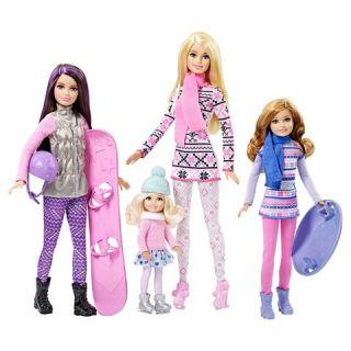 Barbie Sisters Winter Fun Dolls