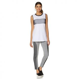 Serena Williams Jersey Mesh Hi Low Tank   8016684
