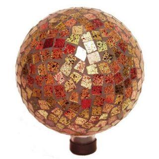 "Echo Valley 8188 10"" Blue Hues Mosaic Gazing Globe"