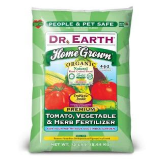 DR. EARTH 12 lb. 180 sq. ft. Home Grown Tomato, Vegetable and Herb Dry Fertilizer 711