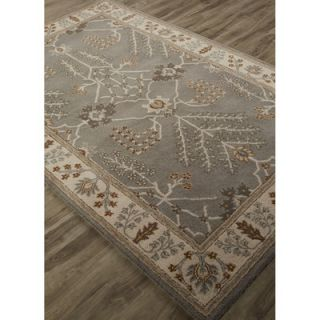 Poeme Hand Tufted Gray/Ivory Area Rug by JaipurLiving