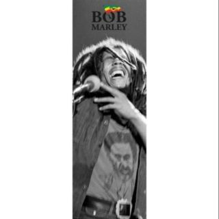 Bob Marley   Black & White   Door Poster Print (21 x 62)