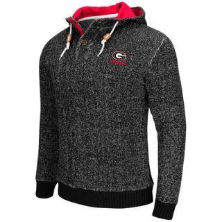 Georgia Bulldogs Colosseum Camber Sweater   Black
