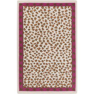 Florence de Dampierre :Hand Woven Danika Animal Wool Rug (5 x 8