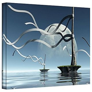 ArtWall Ribbons Gallery Wrapped Canvas Art By Cynthia Decker, 32 x 48