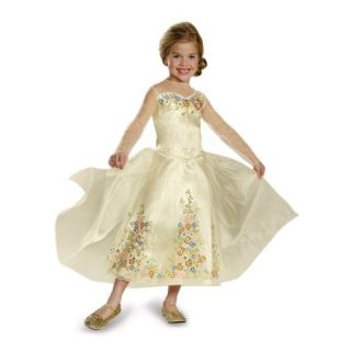Cinderella Movie Wedding Dress Deluxe Toddler Dress Up / Role Play Costume