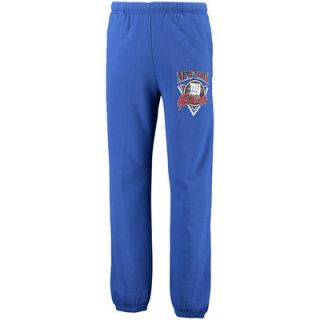 New York Giants Mitchell & Ness Marble Fill Sweatpants   Royal