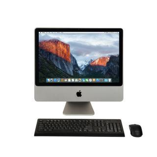 Apple iMac MB417LL/A20 inch Core 2 Duo 4GB RAM 320GB HD El Capitan All