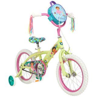 Dora Girls Dora Bike with Training Wheels