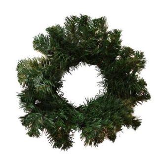 """10"""" Deluxe Windsor Pine Artificial Christmas Wreath   Unlit"""
