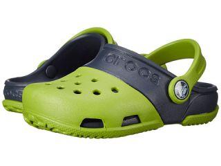 Crocs Kids Crocs Kids   Electro II Clog (Toddler/Little Kid) Parrot Green/Navy