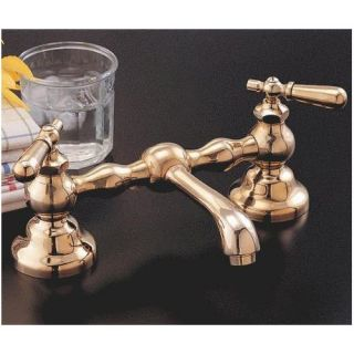 Sign of the Crab P0565 12 Columbia 12 Faucet Set with Straight Spout