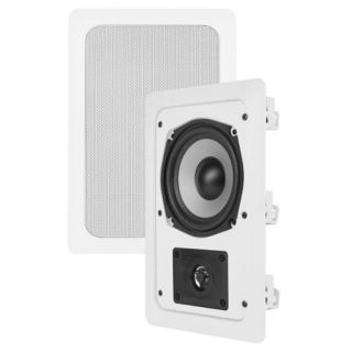 VM AUDIO Shaker 5.25 150 Watt 2 Way In Wall Surround Sound Home Speaker Single: Audio