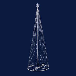 LED 152 Multi Light Show Tree 4 x 24   17674332