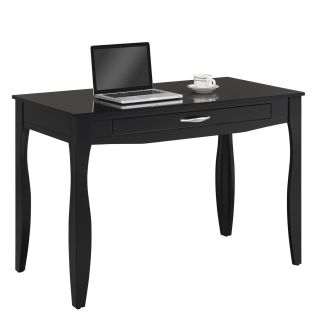 Classic Flame OD4912 48 B470 Kettering Computer Desk with Keyboard Tray in Black